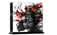 Cheap 1Set Hot sale Killzone Skin Stickers For Playstation 4 PS4 Console + 2 Pcs Vinyl decal Skin Stickers For PS4 Controller Games