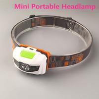 Wholesale Mini Headlight Lumens CREE R3 LED Modes Headlamp Outdoor Headlight Portable Head Lamp Lantern For Hunting