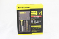 Wholesale 2014 Nitecore I2 Universal Charger for Battery E Cigarette in Muliti Function Intellicharger Rechargerable