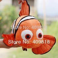 animated clownfish - Animated and Cute Clownfish Plush Toy Dark Yellow Valentine s Day Gift children gift