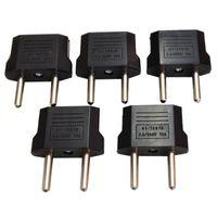 Wholesale Fast Shipping USA US To EU Plug Adapter Travel Charger Adaptador Converter Universal AC Power Electrical Plug Socket