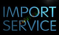 trading company - LK654 TM Import Service Trading Company Neon Light Sign Advertising led panel jpg