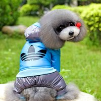 apparel for dogs - New Pet Warm Down Jacket Dog Clothes Apparel Hoodie Hooded Coat for Winter