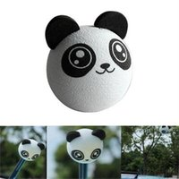 Wholesale 2015 New Hot Sale Fashion Popular Kungfu Panda Car Antenna Topper Ball For Car Decoration Car Aerials Decoration