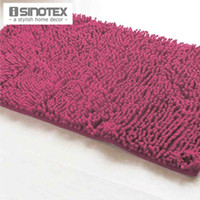 area rug bathroom - Red Bath Mat Soft Shaggy Mat Chenille Mat Area Rug Bathroom Floor Carpet Anti Slip Water proof Floor Mat Footcloth