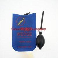 Wholesale 2015 Hot selling Blue KLOM PUMP WEDGE LOCKSMITH TOOLS Auto Air Wedge Lock Pick Open Car Door Lock Small Size CM