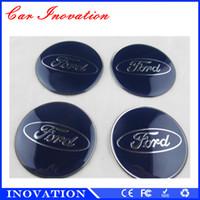 aluminum wheel caps - Launch X431 Diagun Car Emblem Badge Wheel Cover Center Cap Stickers M Car Sticker For Ford