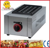 assured commercial - commercial Gas Takoyaki Maker Takoyaki grill Quality Assured stainless steel cast aluminum with non stick coating