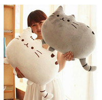 soft toys - Novelty Soft Plush Stuffed Animal Doll Talking Anime Toy Pusheen cat for Girl Kid Cute Cushion brinquedos birthday Gift
