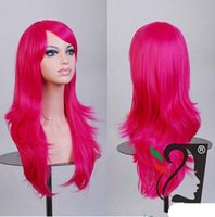 Pink Long other Shoppingabc Vocaloid Long Wavy Wigs Lolita Cosplay Wig Kanekalon Costume Party Wig For Halloween Curly Hair