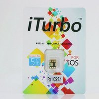 apple tell - iTurbosim iTurbo iturbo unlock sim card for iPhone S C iOS to iOS X unlock sim card for Sprint Verizon ATT T mobile lusacell Tell