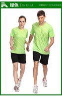 Wholesale 2015 New Breathable table tennis jerseys quick dry badminton clothes Comprehensive training clothing suit
