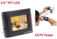 Wholesale 2 quot CCTV Test Monitor Portable CCTV Security Camera Tester CCTV LCD Monitor Testing Camera Video