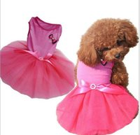 amazon europe - Amazon Europe and the United States with pet pink butterfly wedding veil The dog dog dress Pet clothes