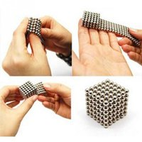 Wholesale 216pcs mm neodymium magnetic balls spheres beads magic cube magnets puzzle birthday present Toys
