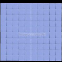 Wholesale 100Pcs x10x1mm Silicon Thermal Pad Heatsink Conductive Insulation Paste Pad BHU2