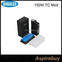 lock box - In Stock Newest Original Sigelei W TC Resistance Lock Sigelei W TEMP CONTROL BOX MOD VS Sigelei W TC Ipv4s Red Blue Black