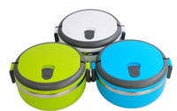 Wholesale Single layer stainless steel liner insulation bentos mealbox thermal child primary school students lunch boxes