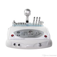 Wholesale High quality in portable diamond peel machine ultrasonic facial massager with cold hot hammer