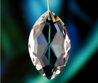 Wholesale Garland Chakra Spectra Rainbow Chandelier Glass Crystals Lamp Prisms Parts Hanging Drops Pendants mm M02240 B