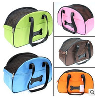 Wholesale New hot portable dog bag for small dogs Mesh Breathable pet carrier bag carry for cats