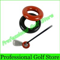 Wholesale Black red Golf Warm Up Swing Weight Ring Golf Club Weighted Practice Tool Training Official