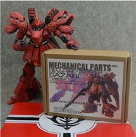 bandai gundam - New SMS Metal Details Up Part Set For Bandai MG Sazabi ver Ka am Model Kit Children s DIY Birthday Gift