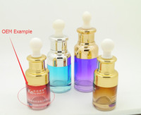 Wholesale 2016 Various Colors ml glass empty essential oil bottle perfume bottles for essence oil and e cigarette e juice liquid glass bottle