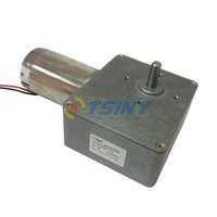 Wholesale Low Speed High Torque V RPM kg cm DC Worm Geared Motor Electric gear reducer