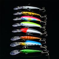 abs laser - Hot Blabbermouth Wobbler Crankbait Lure cm g D eyes Laser ABS Plastic jigging fishing bait