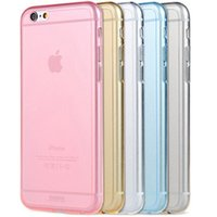 "For Apple iPhone Silicone  Christmas Gift Transparent TPU gel Crystal Clear New Ultra Thin 0.3mm Clear Soft Back Case Cover Skin For iPhone 6 Apple 4.7"" DHL EMS Free"