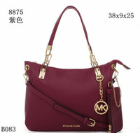 Wholesale and retail hot sell fashion bags handbags shoulder bags tote bags wallet purse black