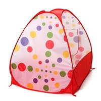 Wholesale Children Kids Play Tents Outdoor Garden Folding Portable Toy Tent Pop Up Multicolor Independent House