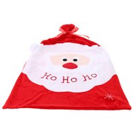 Wholesale 2015 New Style Christmas Gift Bag The Santa Claus Gift Present Bag Gifts Sack Ornaments Christmas Decoration Supplies cm
