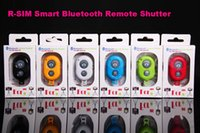 Wholesale R SIM Smart Bluetooth Remote Shutter For iOS Android iphone Samsung Smartphone