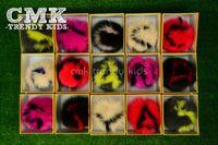 balls bunny - CMK Fur Ball Chain with Letter A Z Real Bunny Fur Key Chain Bag Charms for Girls Christmas Gift