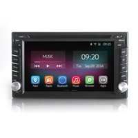 dvd media - 6 inch Universal Din Android Quad Core Car Multi Media GPS Navigation Car DVD with GPS Support OBD DVR Built in Wifi