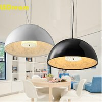 Wholesale Sky Garden Modern Fashion Black White Dinning Room Bed Room Reading Room cm Resin Pendant Lamp For Home Decoration Italy desiger