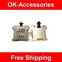 Wholesale 5pcs High quality For HTC One M7 e Sim Card Tray Holder Flex Cable