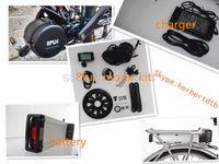 8FUN Bafang 36V motore 250W con batteria cremagliera 36V 10Ah posteriore e kit completo di e-bike caricabatterie