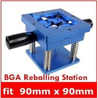 Wholesale The Best Quality Reballing BGA Station with Handle mm x mm Stencils Template Holder Jig top sale drop