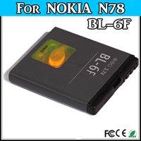 Cheap BL-6F BL 6F For Nokia BL-6F N78 N79 N95 6788 6788i phone Battery batteria batterie akku accu