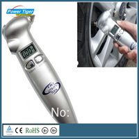 Wholesale New Arrival Car Digital Tire Gauge Function in Mini Diagnostic LCD Car Tire Pressure Gauge SW V