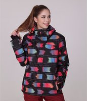 Wholesale fashion style hotsale women snowboard jacket K K cotton coat GSOU SNOW skiing jacket outwear