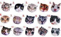 Wholesale Newest Cartoon Coin Wallet Cute Cat Face Coin Purse Zipper Coin Bag High quality