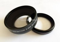 Wholesale 52mm x Wide Angle Lens for Nikon D3000 D7000 D90 Shipping Free S72