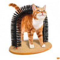 Wholesale Pet Supplies Plastic Bristles Purfect Arch Cat Groomer And Massage Cat Scratcher Toy Free DHL Shipping