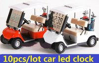 alarms mini golf - new new Modern Mini Golf car alarm lcd clock Christmas birthday Gift