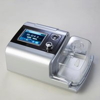 Wholesale Fast Shipping Portable Auto CPAP Machine For Sleep Apnea therapeutic device Silver Shell Inch TFT Screen