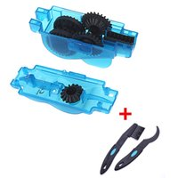 Wholesale 3pc Bicycle Mountain MTB Bike Wash Chain Cleaner Tools Flywheel Brush Scrubber Clean Brushes Outdoor product